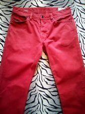 Diesel Jeans Koolter Rojo Talla W31 L32 Usado En Excelente Condición