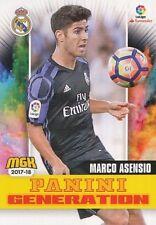 405 MARCO ASENSIO ESPANA REAL MADRID PANINI GENERATION CARTA CARD MGK 2018