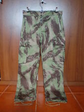 Portuguese Paratroopers Lizard Camo Combat Trousers Original
