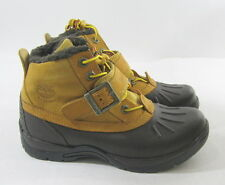 Timberland Youths Mallard Wp Chukka Wheat/Brown Boot 2.5Y