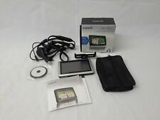"Garmin Nuvi 1450 GPS Bundle With Charger, case, mount, 5"" Screen & box"