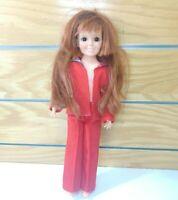 "Vintage 1968/1969 Ideal CRISSY Doll Original 18.5"" Growing Hair Excellent EUC"