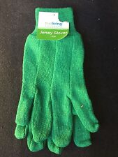 Green True Living Jersey Work Gloves
