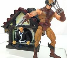 Marvel Legends WOLVERINE Brown Suit from Series VI~ ToyBiz 2004~ Complete~