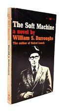 William S. Burroughs - The Soft Machine - SIGNED Fourth Printing - Black Cat '67