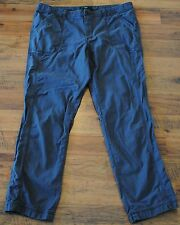 Womens Eddie Bauer Size 12 Gray Casual Pants Capris