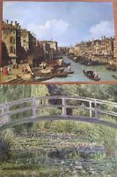 Grand Canal Print Painting No. 24 And 4 The Water Lily Pound Monet 2 Prints