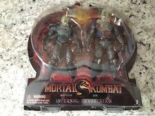 Jazwares Mortal Kombat 9 Internal Devastation X-Ray 2 Pack Jax and Reptile