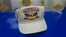 Red Man Tobacco 10Th Anniversary Fishing Trucker Golf Hat K Products Usa