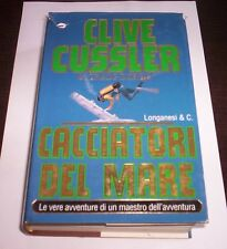 CACCIATORI DEL MARE Clive Cussler Dirgo 1997 Longanesi romanzo avventura libro