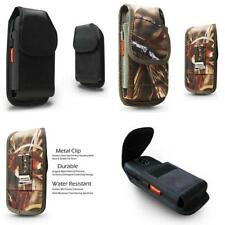 Vertical Nylon Rugged Pouch Case Belt Clip Loop Holster fit for Most Smart Phone