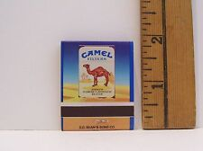 1992 CAMEL FILTERS CIGARETTES MATCHBOOK WITH MATCHES