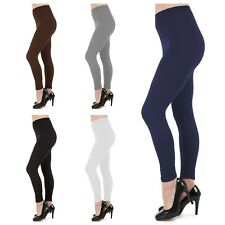 Womens Ladies Girls Full Length Leggings Size 6 8 10 12 14 16 18 20 22 24 26