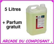 PRODUIT LIQUIDE MACHINE A FUMEE 5 L + PARFUM GRATUIT *F (ref PF5L) Poids 5,300Kg