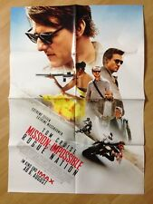 Filmposter * Kinoplakat * A1 * Mission: Impossible - Rogue Nation * 2015
