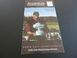 Adam Scott Signed Golf Guide Program Brochure PSA or Beckett Guaranteed