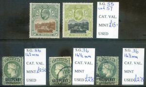 St. Helena Q.V. & Edward 7th mint and used, 5 stamps (2020/09/03#03)