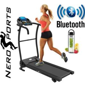 BLUETOOTH NERO PRO TREADMILL Electric Motorised Folding Running Machine BEST OFR
