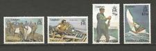 bateaux Tristan Da Cunha 1972 Y&T N°174 à 177 4 timbres non oblitérés /T4487