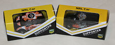 Wests Tigers 2014 + 2015 NRL Kids Collectable Mini Model Car Twin Pack New