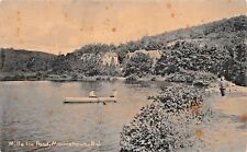 MORRISTOWN NEW JERSEY~MILLS ICE POND-ROTOGRAPH PHOTO POSTCARD 1900s