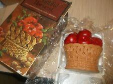 Avon Bountiful Harvest Spiced Apple Fragrance Decorative Pomander
