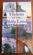 Visions of the HOLY LAND Spiritual Journey Back in Time VHS Tape