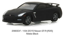 Greenlight Nissan GTR R35 2015 Matte Black 29900 F 1/64