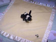 Yellow Plush The Bearington Collection Buzz Bee w Satin Baby Security Blanket