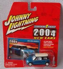 """2004 MINI COOPER S (1:64) Johnny White Lightning STRIKE """"2004 NEW CARS #1"""" CHASE"""