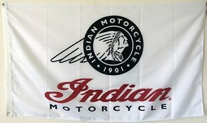 INDIAN MOTORCYCLE BANNER FLAG 3X5FT POLYESTER MAN CAVE