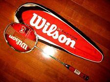 Wilson (K)Factor (K) Power Badminton Racquet - Brand New! - With Cover