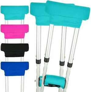 Vive Crutch Pads - Padding for Walking Arm Crutches - Universal Underarm Padded