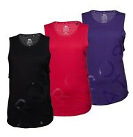 Ladies Crosshatch Sleeveless Printed Stylish Cotton Tank Top Sizes from 8 to 16