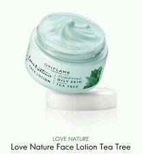 Love Nature Face Lotion Cream Tea Tree, 50ml New