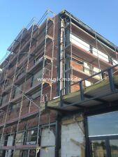 Gerüst Typ Layher 104 qm mit Durchstieg Fassadengerüst Stahlböden 3,07 m NEU
