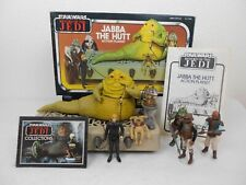 "Vintage Star Wars ROTJ 1983 Jabba's Throne Room ""Complete w/Box""  *Very Nice*"