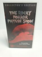 Vintage The Rocky Horror Picture Show Collector's Edition VHS Tape Cassette