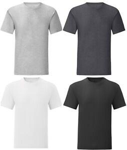 Mens CZ Plain T shirt Cotton Crew Neck T Shirts Tee Top Regular Casual M-6XL A