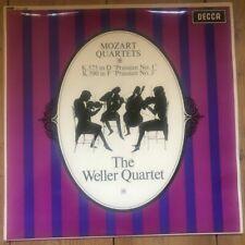 SXL 6258 Mozart Quartets 'Prussian' Nos. 1 and 3 / Weller Quartet W/B