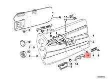 Genuine BMW E31 Coupe Vacuum Cap OEM 51418123346