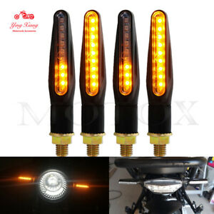 Bendable Turn Signals LED Light E24 Flowing Water Blinker Flashing Indicator