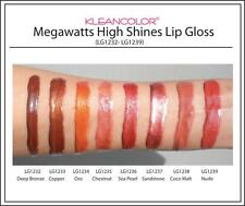 Kleancolor Megawatts High Shine Lip Gloss (CHOOSE COLOR)