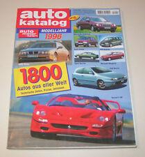 Autokatalog Modelljahr 1996 - Nr. 39!