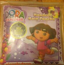 Dora Hooded Rain Poncho