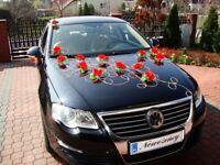 Rosen Braut Auto Deko Dekoration Hochzeit Blumen Hochzeitsauto Schmuck