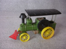 Old Vtg Sign of Quality B Tin Steam Engine Train W/Wheels Toy Vehicle Japan