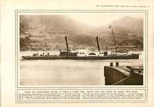 1915 Danube Orsova Austro-Invasion Allemande