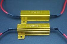 2x 50W 8 R ohm Car Turn Indication Signal Rear LED Bulb Load Resistor