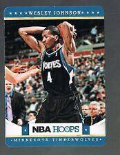 2012/13 panini NBA HOOPS Taco Bell WESLEY JOHNSON #84 TIMBERWOLVES / SYRACUSE